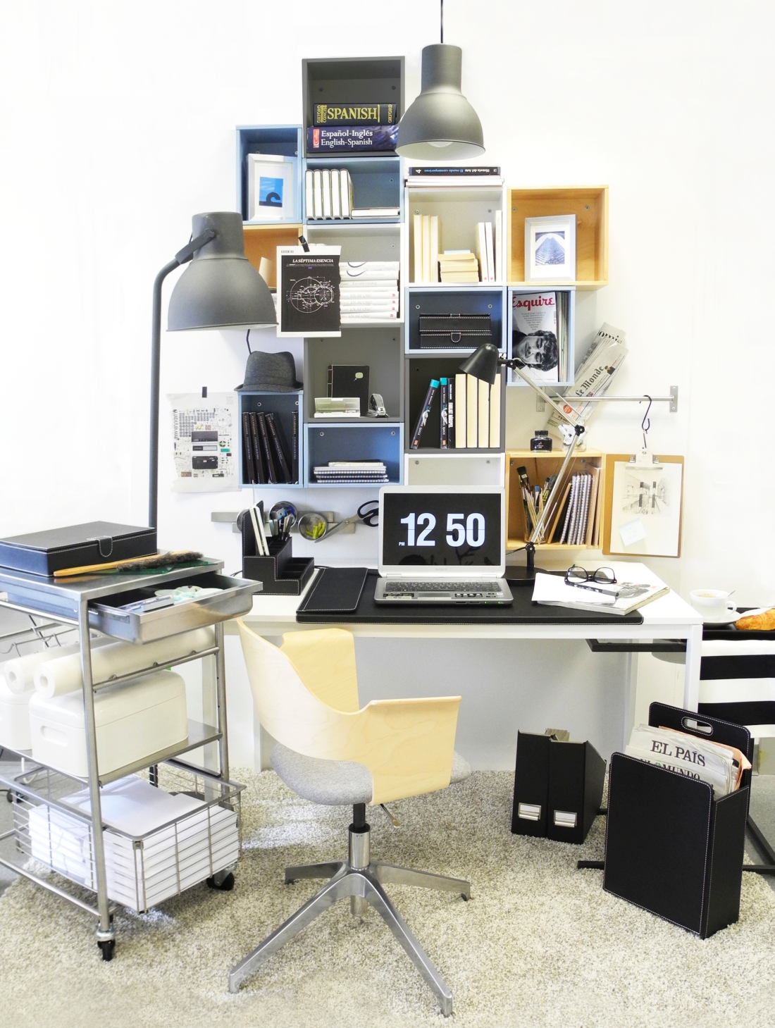 Stephane's cool home office