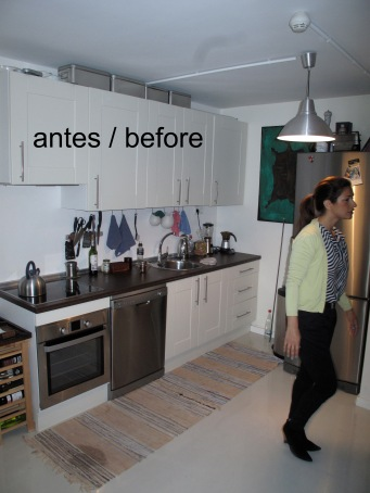 Kitchen -before