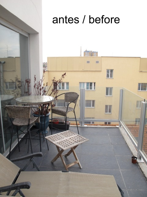 Terrace -before
