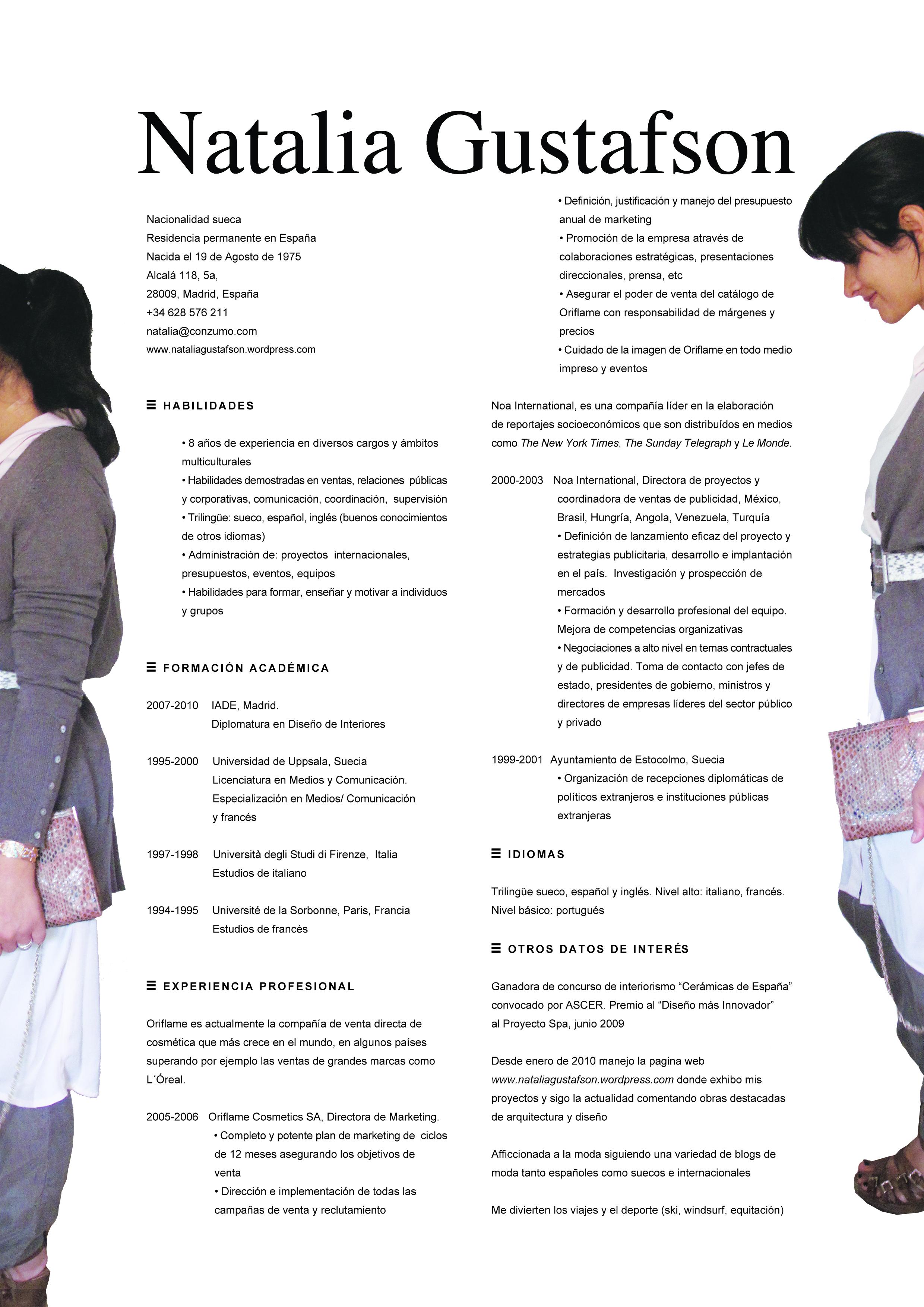 Disenos De Curriculum Vitae