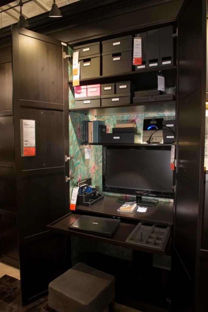 A hidden workspace solution.