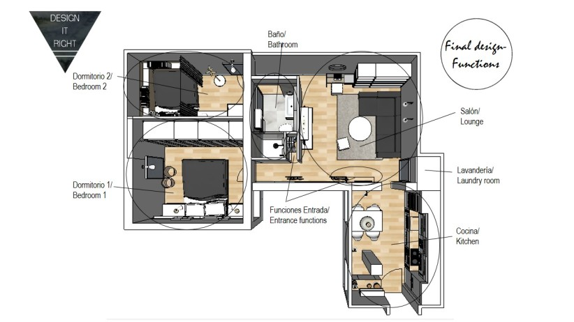 Designed floorplan